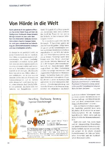 Ruhrwirtschaft, Sept. 2008